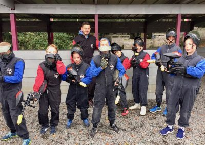Enfants Paintball